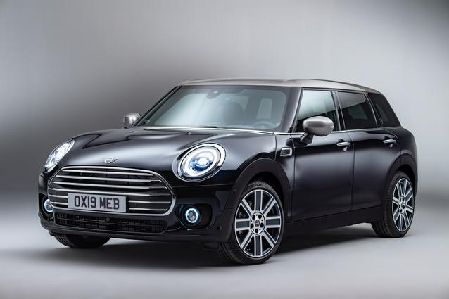 The new MINI Clubman. Studioshooting MINI Cooper Clubman.