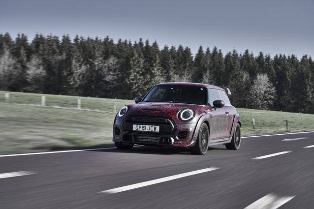 MINI John Cooper Works GP Prototype (06/19) Not specified. Vehicle not on sale yet.