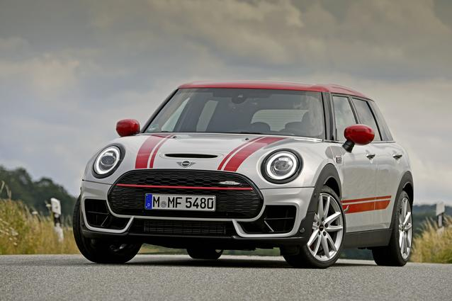 The new MINI John Cooper Works Clubman (07/19).