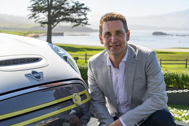 Bernd Koerber (Senior Vice President MINI), MINI Cooper SE (08/19).<br />