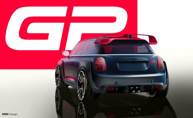 Design Renderings, 2021 MINI John Cooper Works GP