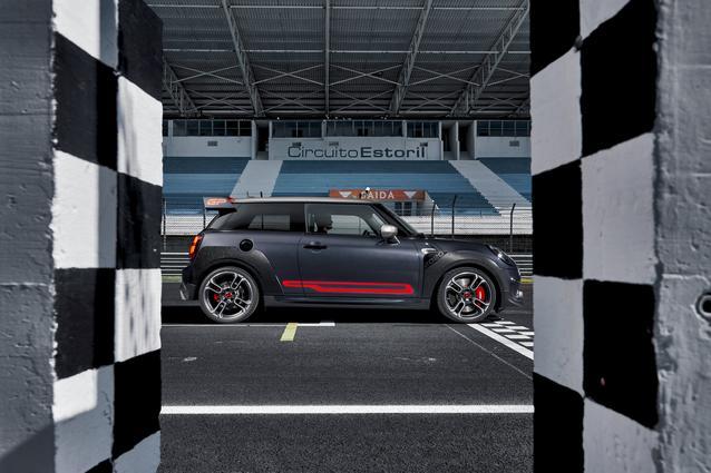 Engine and Track, 2021 MINI John Cooper Works GP