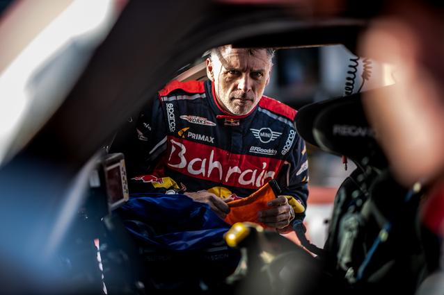 Munich (GER), 17th January 2020. Dakar Rally, Saudi Arabia, MINI JCW Buggy, Lucas Cruz.