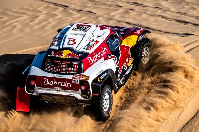 Munich (GER), 17th January 2020. Dakar Rally, Saudi Arabia, MINI JCW Buggy, Stéphane Peterhansel.