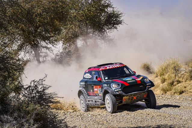 Munich (GER), 17th January 2020. Dakar Rally, Saudi Arabia, MINI JCW Rally, Orlando Terranova.