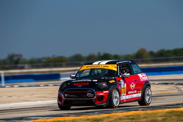 Photo Credit: Images courtesy of the MINI JCW Race Team/LAP Motorsports LLC via Halston Pitman