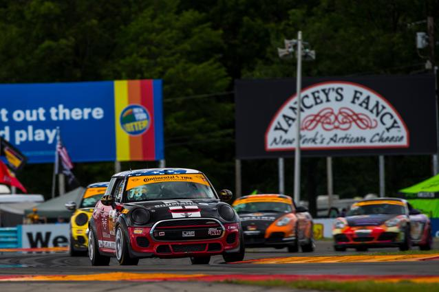 MINI JCW Team Dominates at Watkins Glen with 1 – 2 Finish Photo Credit: Images courtesy of the MINI JCW Race Team/LAP Motorsports LLC via Halston Pitman.2017 Watkins Glen Race Saturday