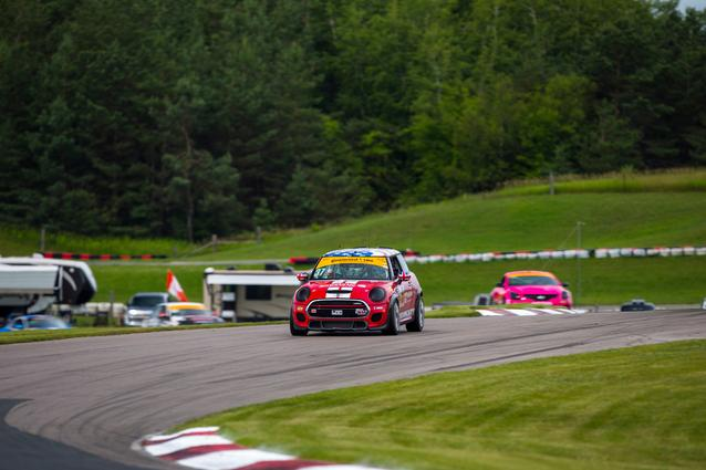 2017 Canadian Tire Motorsports Park- Friday. Photo Credit: Images courtesy of the MINI JCW Race Team/LAP Motorsports LLC via Halston Pitman.