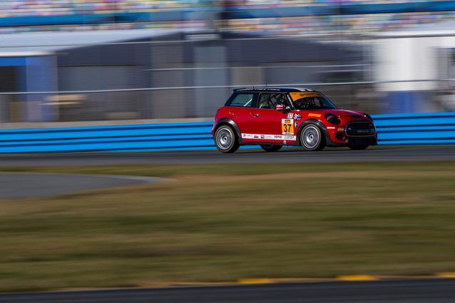 Photo Credit: Images courtesy of the MINI JCW Race Team/LAP Motorsports LLC via Halston Pitman