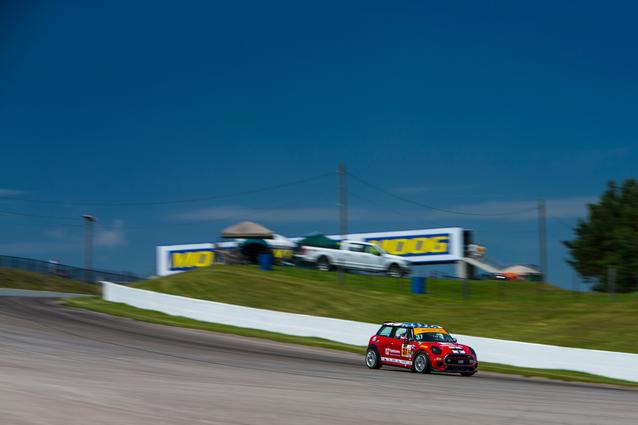 2017 Canadian Tire Motorsports Park- Thursday. Photo Credit: Images courtesy of the MINI JCW Race Team/LAP Motorsports LLC via Halston Pitman.