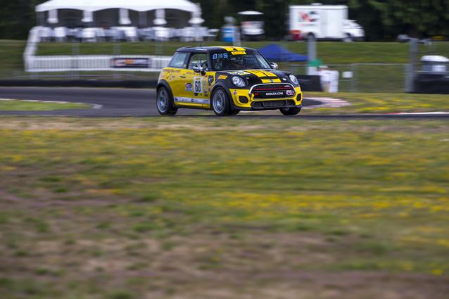 MINI JCW Team Dishes Out One-Two Punch During Portland Leg of SRO TC America Race Series (07/12)