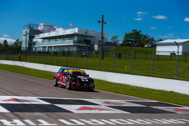2017 Canadian Tire Motorsports Park- Saturday. Photo Credit: Images courtesy of the MINI JCW Race Team/LAP Motorsports LLC via Halston Pitman.