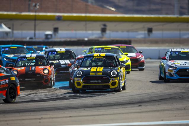 MINI JCW Team Claims TC America Manufacturers' Championship (Sunday)