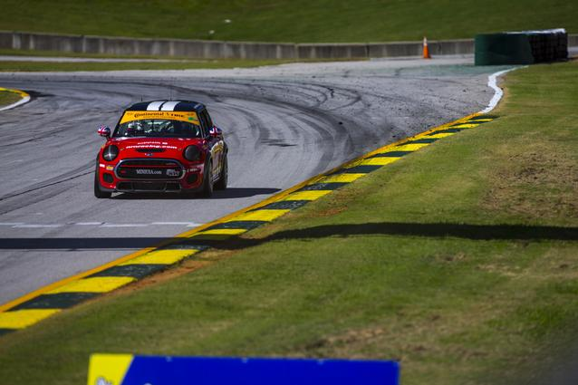MINI JCW Team Takes the Manufacturers' Championship in the Street Tuner Race of the Continental Tire SportsCar Challenge Series