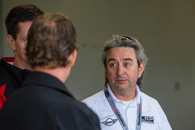 MINI JCW Team Owner Luis Perocarpi. Photo Credit: Images courtesy of the MINI JCW Race Team/LAP Motorsports LLC via Halston Pitman.